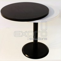 Round table (black leg)